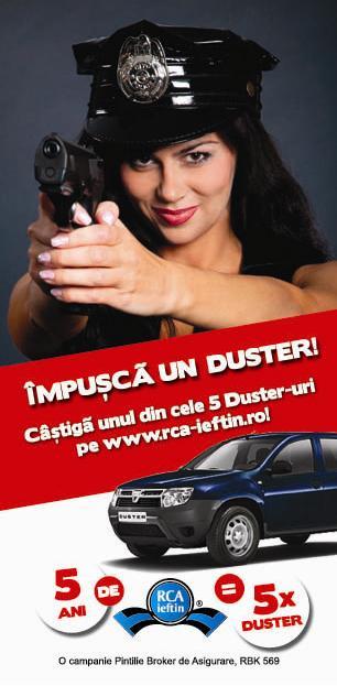 "Te asteptam in campania promotionala: ""Impusca un Duster"""