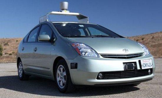 Google detine patentul pentru masina care se conduce singura
