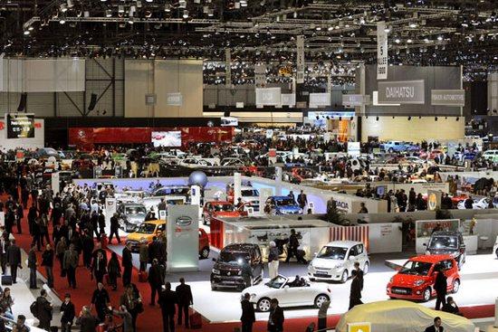 Salonul auto de la Geneva aduce 700 de branduri la un loc
