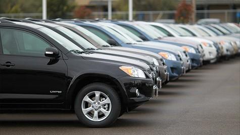 Vanzarile auto, mai mici cu 18,5% in primele sapte luni ale anului