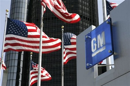General Motors a urcat pe prima pozitie in topul constructorilor de automobile
