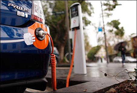 Capitala va avea prima statie de alimentare pentru masinile electrice