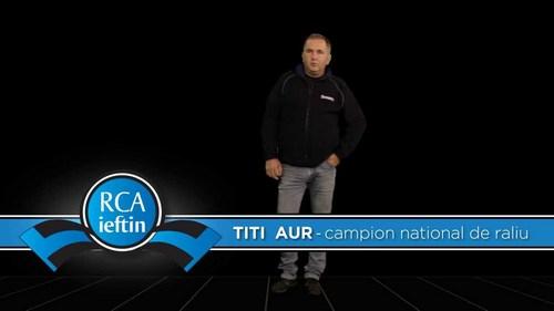 RCA ieftin si Titi Aur iti prezinta Cursul de conducere defensiva care iti poate salva viata!