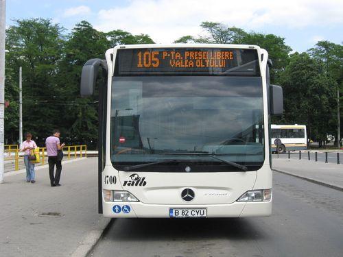 Autobuzele RATB vor avea banda proprie