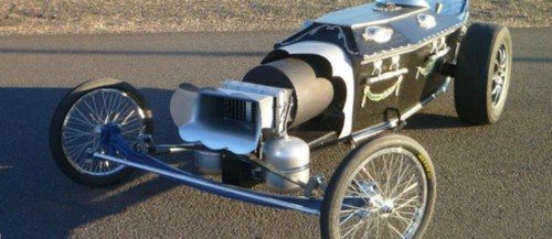 Masina-cosciug care prinde 100 km/h in 9 secunde
