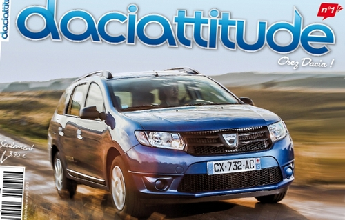 Daciattitude: revista pasionatilor de Dacia, din Franta