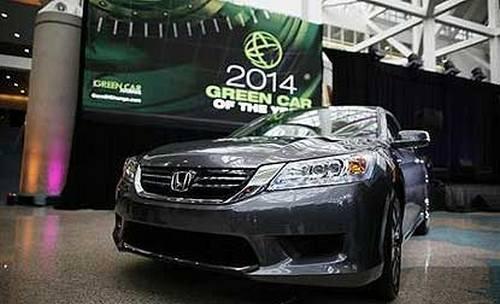 "Honda Accord declarata masina ""verde"" a anului"
