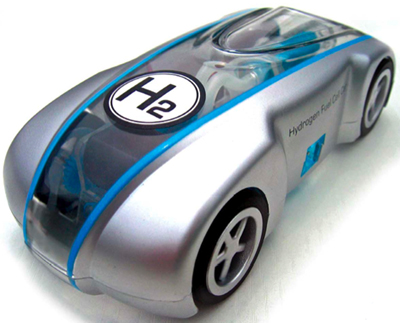 Trei mari companii auto vor sa produca masina pe hidrogen