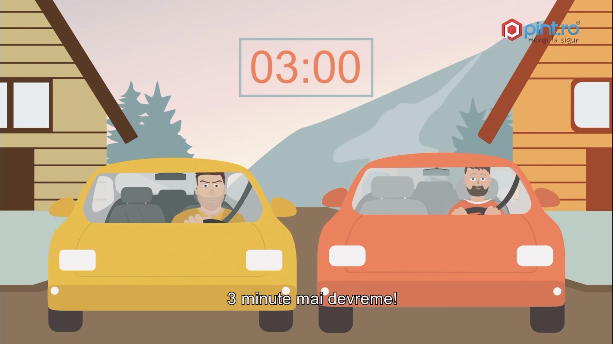 Fără grabă, o campanie de conștientizare a siguranței rutiere de Pint.ro